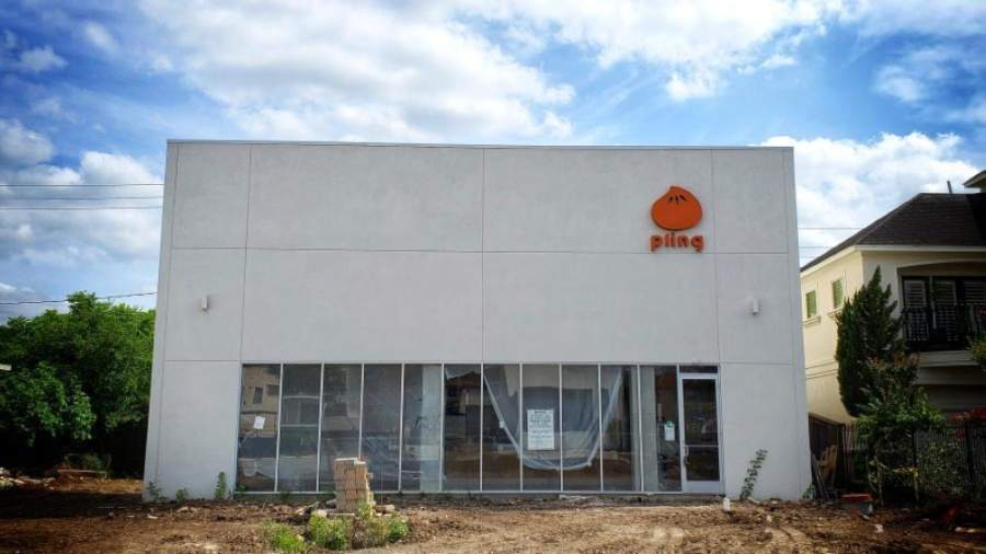 A new dumpling restaurant, Pling, is under construction at 223 Westheimer Road, Houston. (Courtesy Pling)
