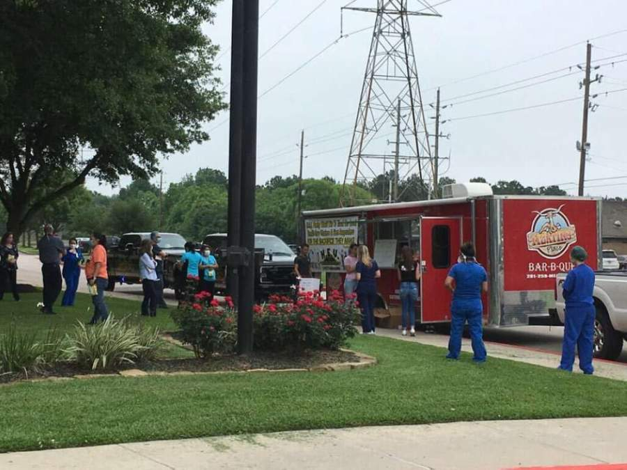 The Meating Place BBQ & Bakery has donated meals to medical workers, first responders and tornado victims over the past week. (Courtesy of The Meating Place BBQ & Bakery)