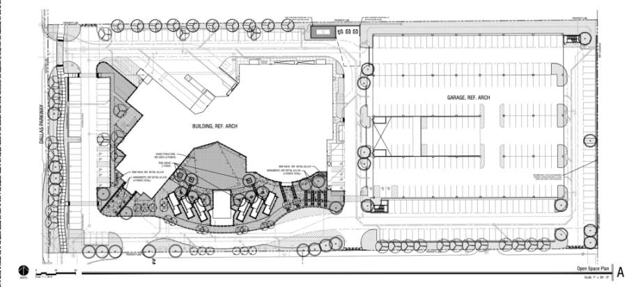 Frisco P&Z approved open space and site plans for the facility's outdoor commercial amusement venue over nearly 7 acres. (Courtesy city of Frisco)