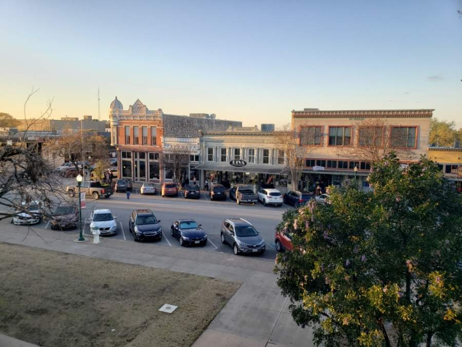 One of the topics will cover why old town has so many different building styles. (Ali Linan/Community Impact Newspaper)