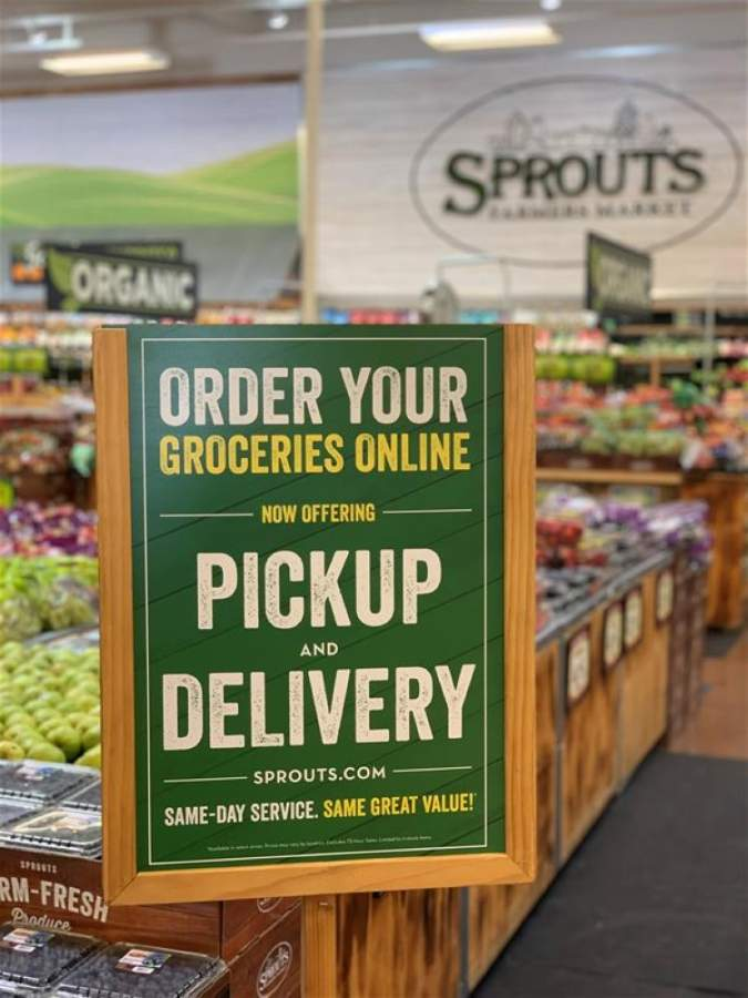 Sprouts Farmers Market expanded curbside grocery pickup services to 30 Texas stores, according to an April 29 news release. (Courtesy Sprouts)