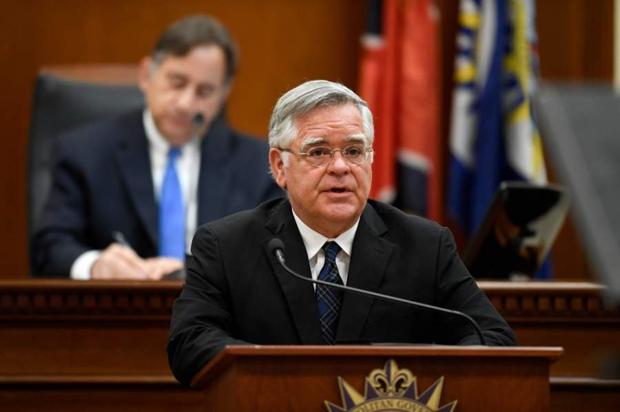 Mayor John Cooper presented his operating budget for fiscal year 2020-21 on April 28. (Courtesy Metro Nashville)