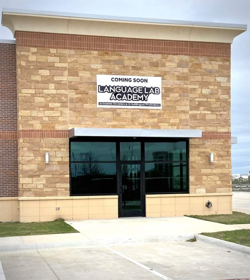 The academy will open on Legacy Drive. (Courtesy Language Lab Academy)