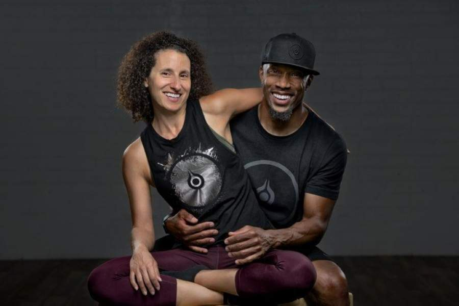 Debbie and Eddie Davis are the owners of FLO Yoga & Cycle. (Courtesy FLO Yoga & Cycle)