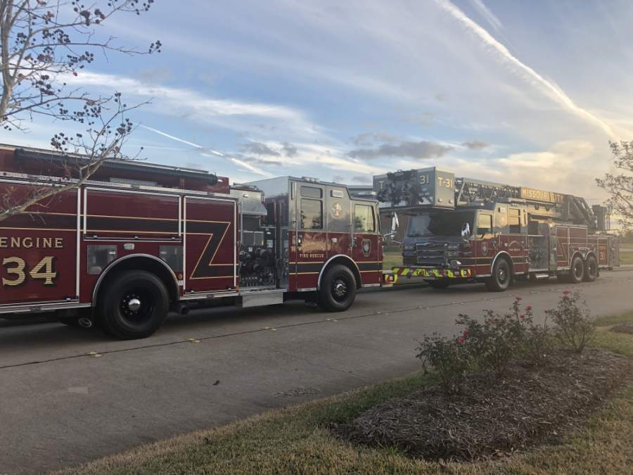 The Missouri City Fire Department has adopted new procedures to keep staff and the public safe during the coronavirus pandemic. (Claire Shoop/Community Impact Newspaper)