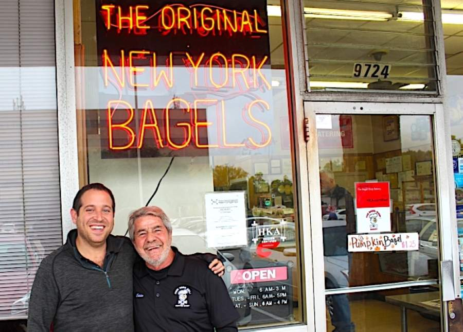 The owners of New York Deli & Coffee Shop have told patrons they are holding off on opening May 1 but are continuing to offer to-go service. (Emma Whalen/Community Impact Newspaper)