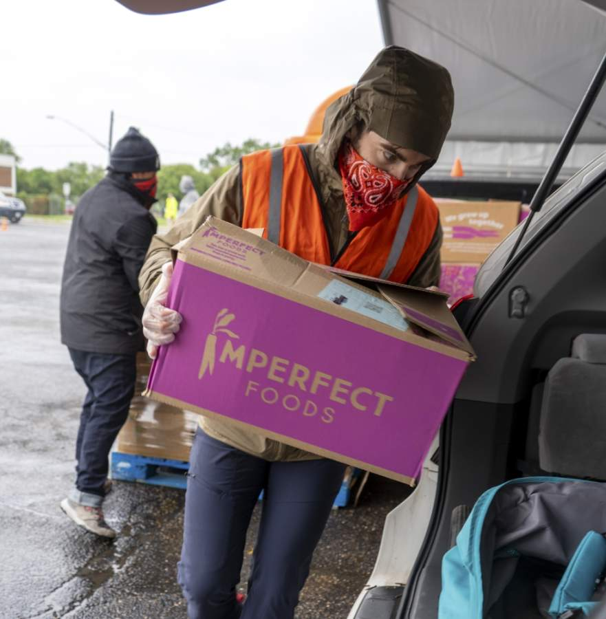 The Central Texas Food Bank will hold more drive-thru food distribution events in May at various locations throughout the Austin area. (Courtesy Central Texas Food Bank)