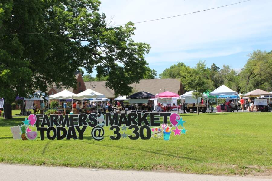 Originally designed to have space for as many 68 Texas-based vendors, the May 1 market will feature 34 vendors and implement precautionary measures to reduce the risk of exposure to COVID-19. (Hannah Zedaker/Community Impact Newspaper)