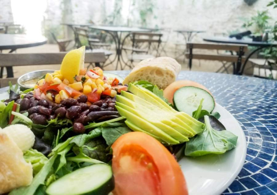 Blue Dahlia Bistro's East Austin location will close, but the West Lake Hills and San Marcos locations are open for takeout and delivery service as of May 1. (Community Impact Newspaper staff)