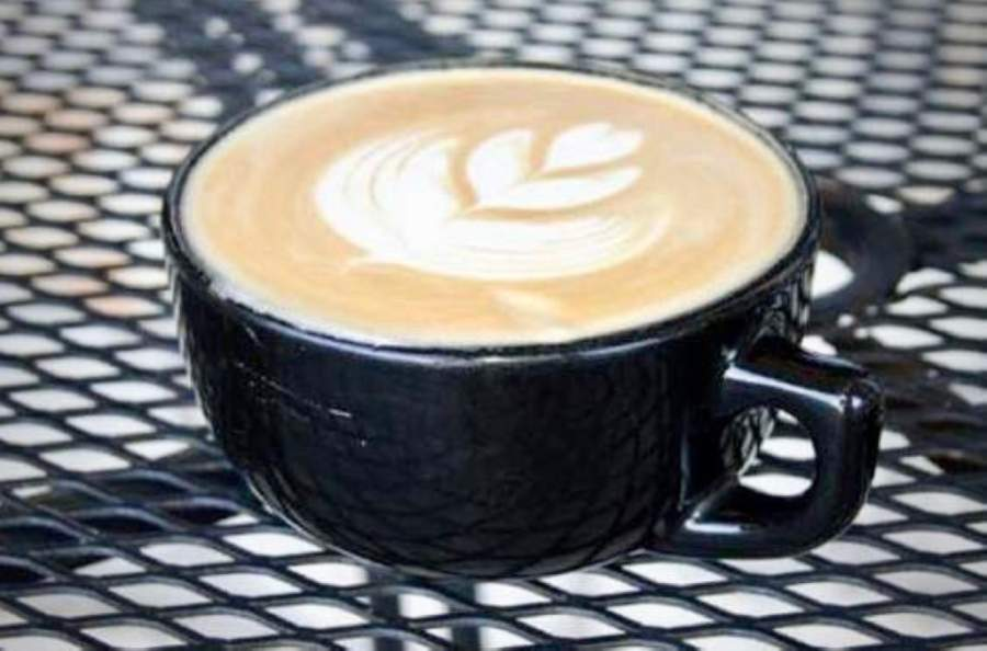 Lamppost Coffee, located at 1205 Round Rock Ave., offers hot and cold beverages as well as pastries and light bites. (Ali Linan/Community Impact Newspaper)