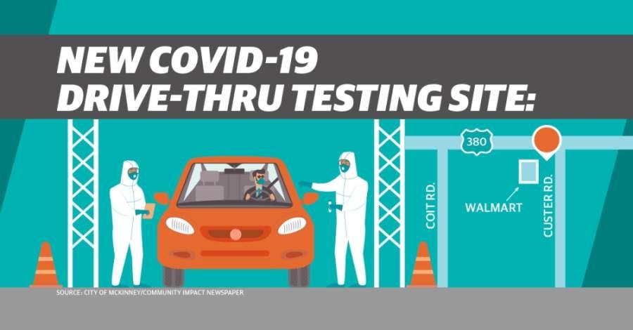 Covid 19 Drive Thru Testing Now Offered At Mckinney Walmart Community Impact Newspaper