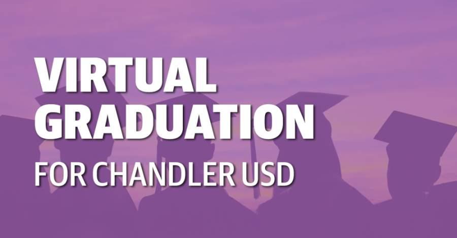 Graduation ceremonies for Chandler USD seniors will be held virtually this year. (Community Impact Newspaper staff)