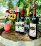 Bernhardt Winery, located at 9043 C.R. 204, Pantersville, has teamed up with Bride & Bloom Florals, located at 21123 Eva St., Ste. 220C, Montgomery, to offer three wine and fresh floral packages available for preorder until May 7 at midnight. (Courtesy Bernhardt Winery)