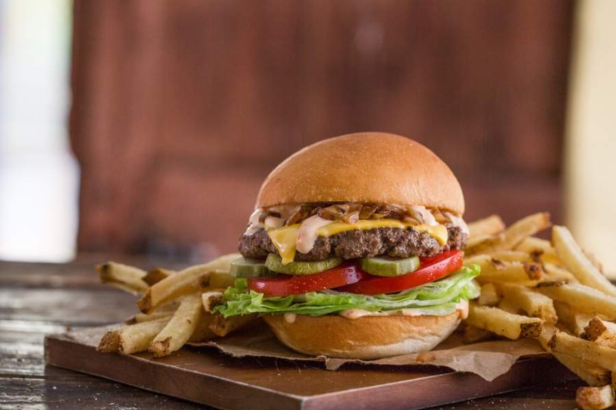 The eatery will open in Brentwood later this month. (Courtesy Mooyah Burgers, Fries & Shakes)