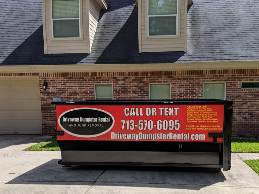 Owner Mike Ferguson launched his new business, Driveway Dumpster Rental and Junk Removal, in early May. (Courtesy Mike Ferguson)