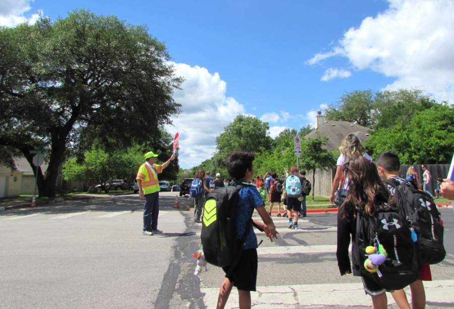 Five South Austin schools have had transportation projects completed in the past month, currently have projects under construction or have projects that are approaching construction. (Nicholas Cicale/Community Impact Newspaper)