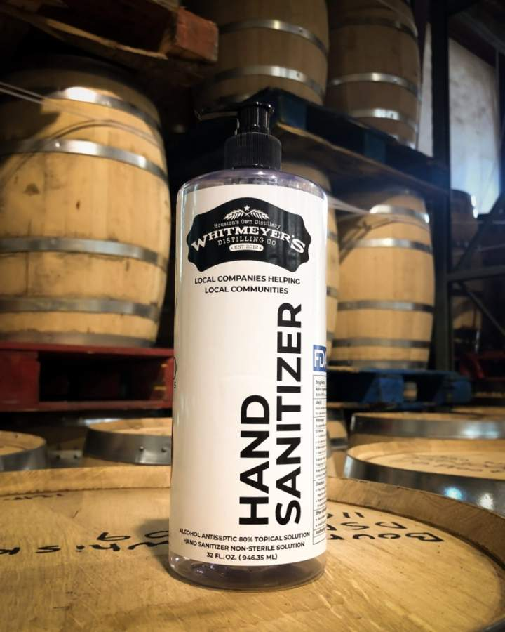 Whitmeyer's Distilling Co. is in looking to make Tomball a permanent home for its hand sanitizer distilling. (Courtesy Tomball Economic Development Corp.)