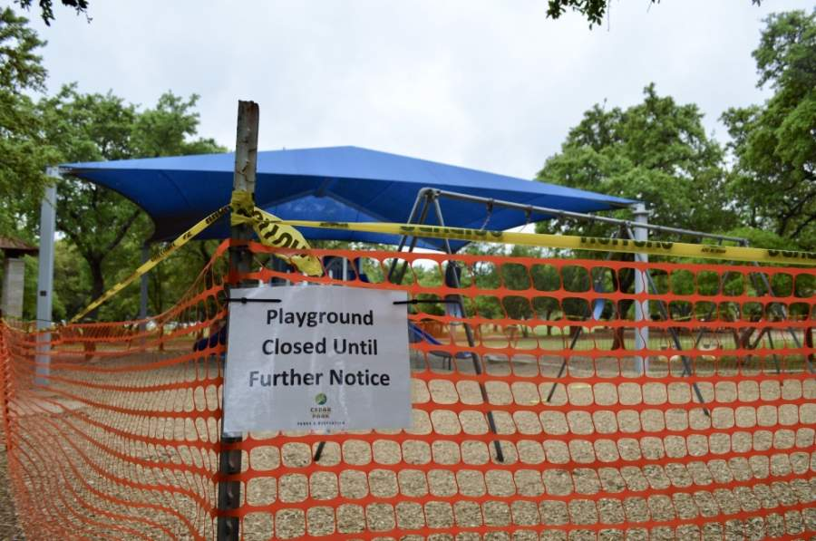 Starting May 6, city park-goers can use pavilions and some recreation areas in limited capacities. (Taylor Girtman/Community Impact Newspaper)