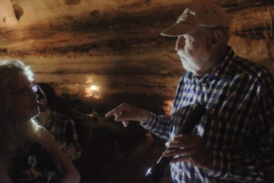 Jim Sansom, a former geologist with the Texas Highway Department, now the Texas Department of Transportation, was the second person to enter Inner Space Cavern after it was discovered in 1963. (Community Impact Newspaper staff)