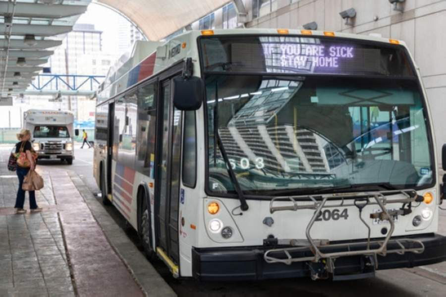 METRO saw a 25% drop in monthly ridership numbers in March 2020 compared March 2019. (Courtesy Metropolitan Transit Authority of Harris County)