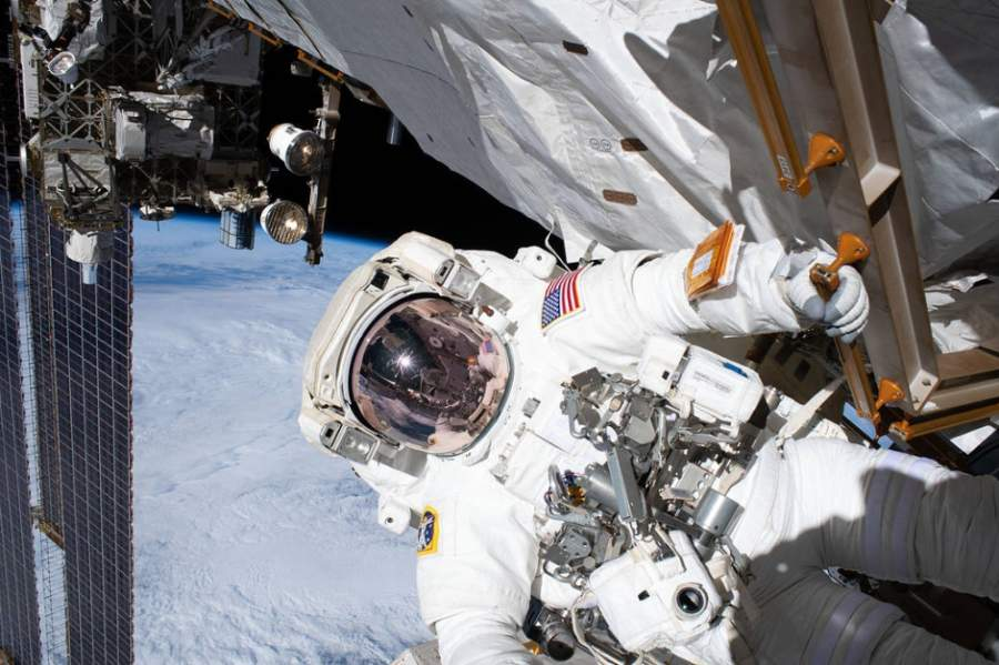While preparing for the first astronaut launch from American soil in nearly a decade, which is scheduled for the end of May, the Johnson Space Center in southeast Houston is operating with only about 10% of its employees on site due to the coronavirus outbreak. (Courtesy NASA)