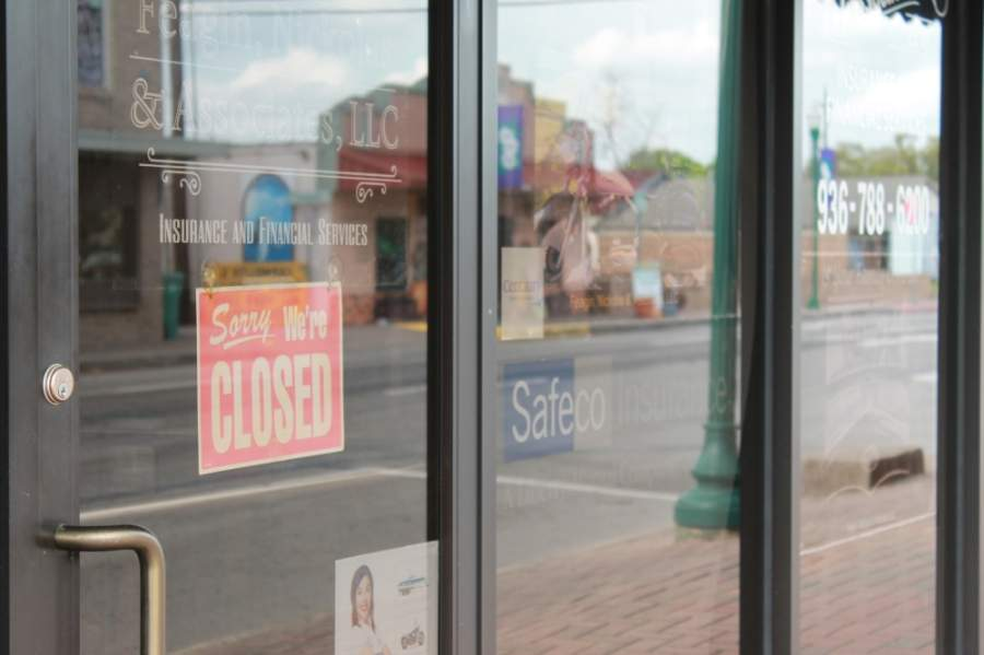 Businesses shuttering their doors due to coronavirus restrictions has lowered the sales tax revenue collected by cities. (Andy Li/Community Impact Newspaper)