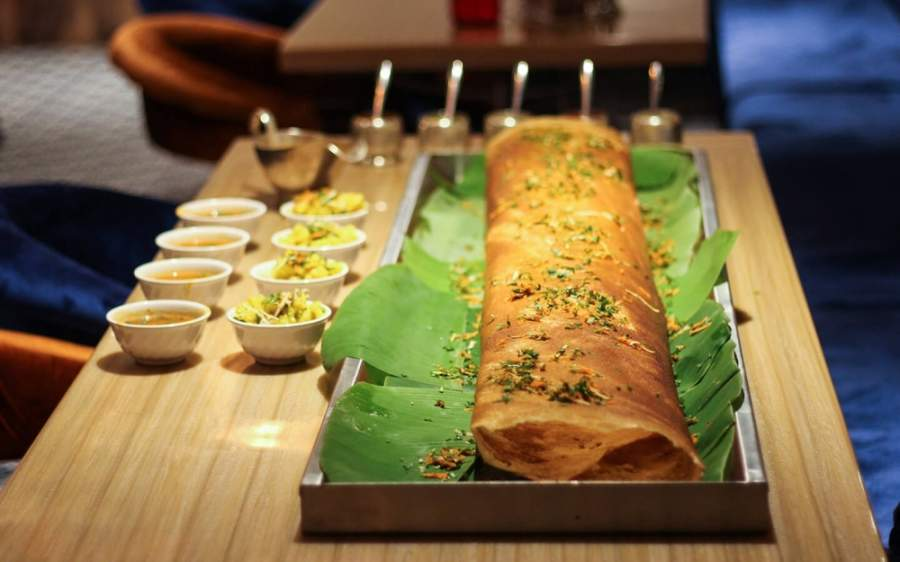 Dosa dishes are Sankalp's signature items, according to restaurant partner Prakruti Modi. (Courtesy Sankalp: The Taste of India)