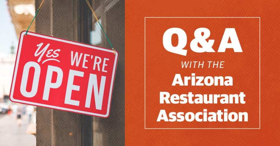 Steve Chucri, president and CEO of the Arizona Restaurant Association, answered questions about the impacts of COVID-19 on the state's restaurant industry. (Community Impact staff)