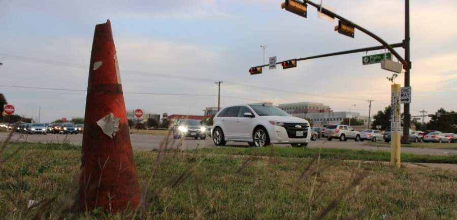 A major Plano Parkway project that started in late 2017 reshaped the intersection where the east-west roadway met Preston Road. Now, crews are preparing to repair pavement between that intersection and the Dallas North Tollway. (Daniel Houston/Community Impact Newspaper)