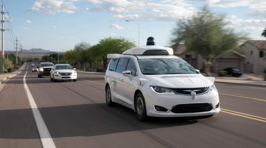 Waymo vehicles will be on the streets of Chandler once again when driving services resume May 11. (Courtesy Waymo)
