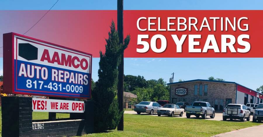 AAMCO Transmissions and Total Care is celebrating 50 years as a company in 2020. (Ian Pribanic/Community Impact Newspaper)