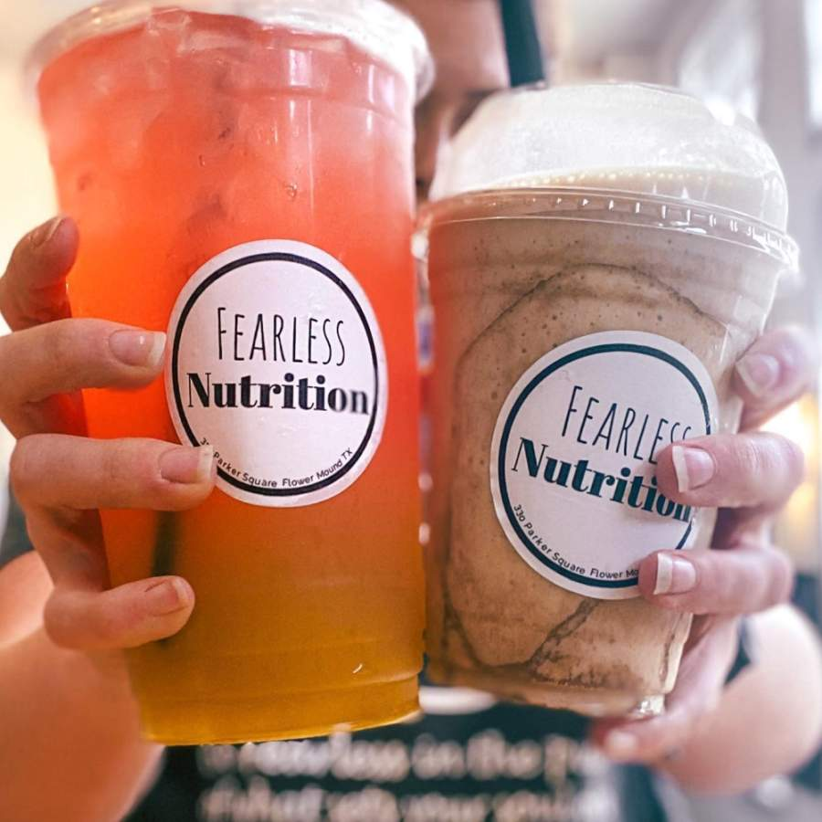 Fearless Nutrition opened May 1 at 330 Parker Square Road, Flower Mound. (Courtesy Fearless Nutrition)