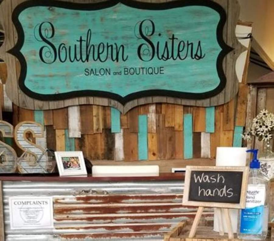 Southern Sisters Salon and Boutique is one of several McKinney salons that reopened May 8. (Courtesy Southern Sisters Salon and Boutique)