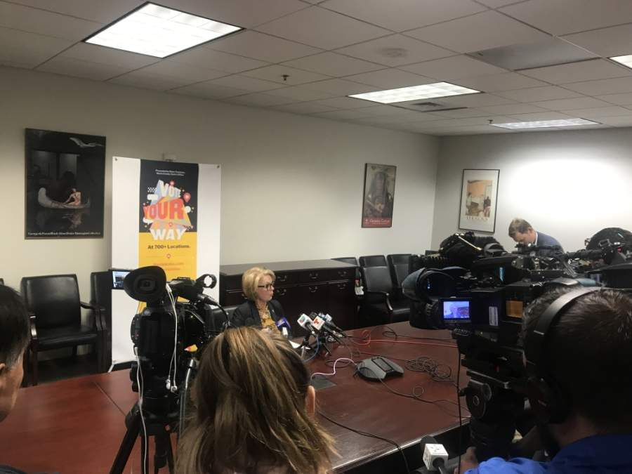 Harris County Clerk Diane Trautman announced she will resign from her position due to the coronavirus and personal health concerns. Her last day will be May 31. (Emma Whalen/Community Impact Newspaper)