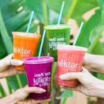 The juice bar offers an assortment of juices and superfood smoothies. (Corutesy Nekter Juice Bar)