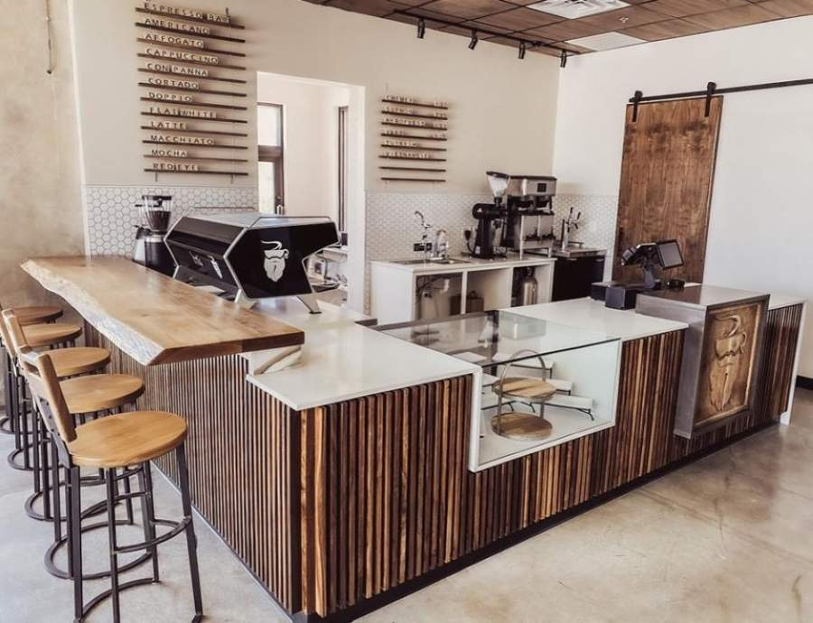 To celebrate its three-year anniversary, Spring-based Barbarossa Coffee opened a second location in early May at 9166 FM 2920, Ste. 100, Tomball. (Courtesy Barbarossa Coffee)