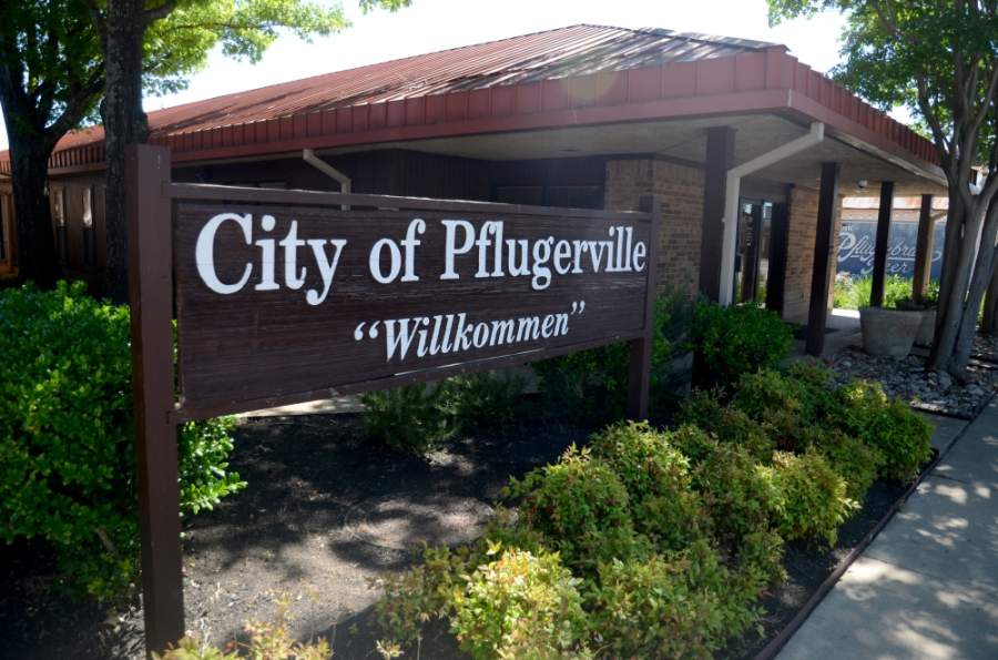 Pflugerville City Council approved the first reading of the 150-acre Timmerman 2020 rezoning request at its May 12 meeting. (John Cox/Community Impact Newspaper)