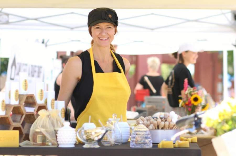 The farmers market in downtown Chandler will resume in June. (Courtesy Downtown Chandler Community Partnership)