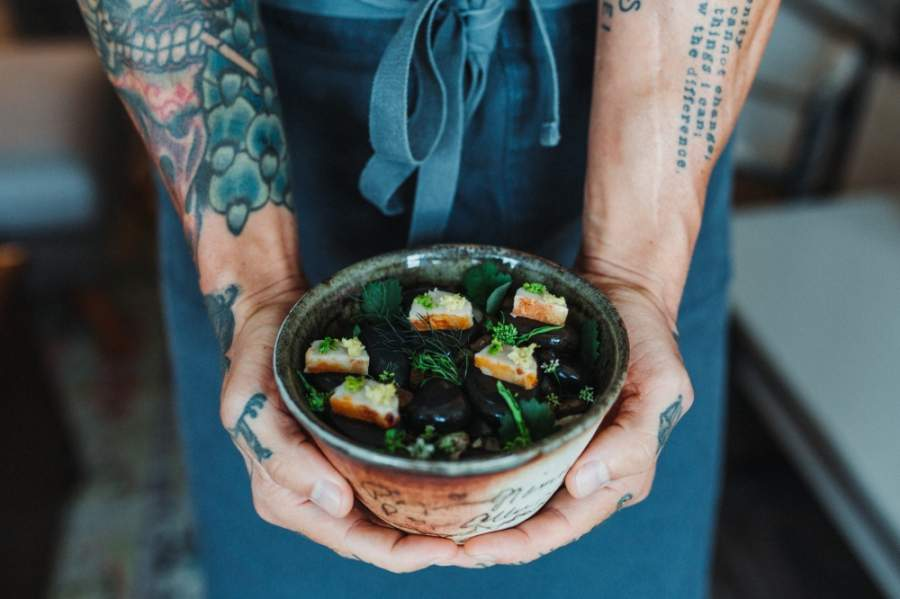 Chef Page Presley opened Foxtail Supper Club on May 7. (Courtesy Taylor Prinsen Photography)