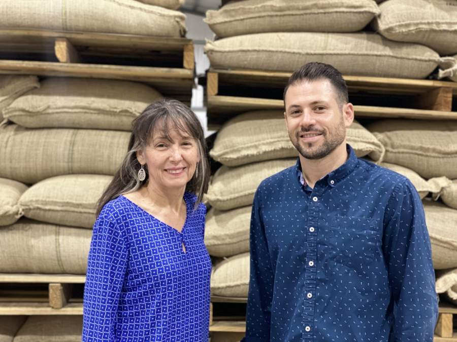 Owners Sheri and son Daniel Dunaway relocated Copan Coffee Roasters in May to a larger space in Tomball to provide room for growth and offering tours of its facility. (Courtesy Copan Coffee Roasters)