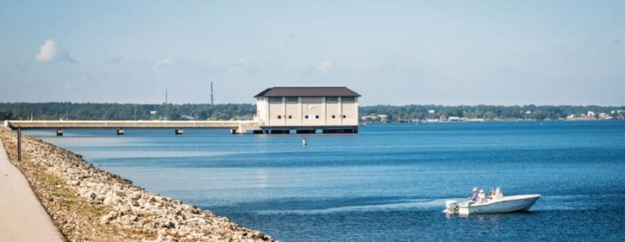Lawsuits over surface water in Lake Conroe have led to increased water rates. (Community Impact Newspaper staff)