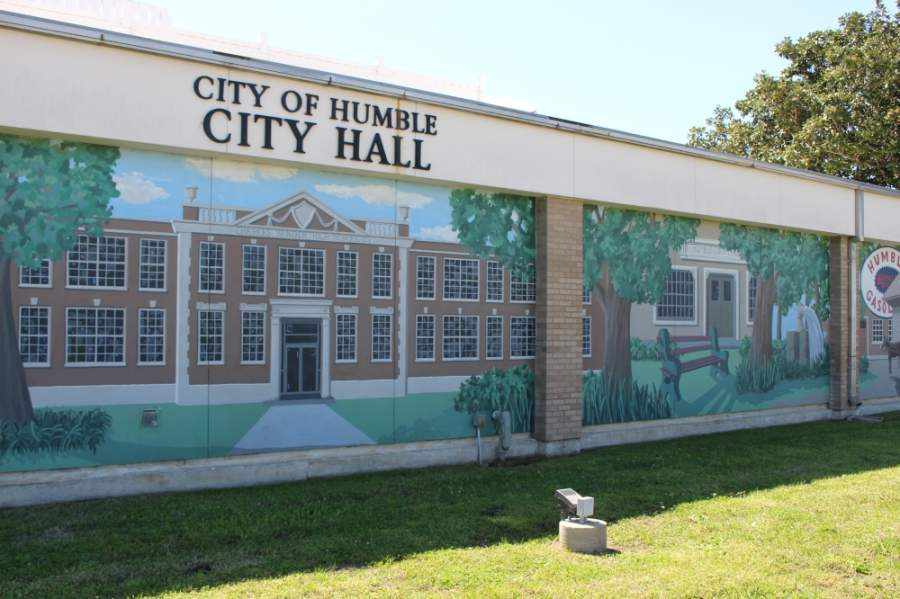Humble City Council, which has been streaming its in-person meetings via videoconference since March, approved an annexation service agreement between the city and Humble ISD at the May 14 meeting. (Kelly Schafler/Community Impact Newspaper)