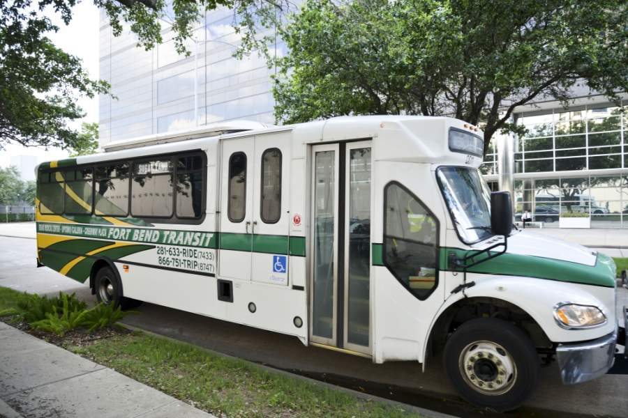 In March 2020, there were a total of 19,414 riders, a 42.7% drop compared to March 2019. (Courtesy Fort Bend Transit)