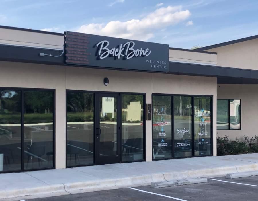 BackBone Wellness Center is located at 3109 W. Kenai Drive, Ste. 101, Cedar Park. (Courtesy BackBone Wellness Center)