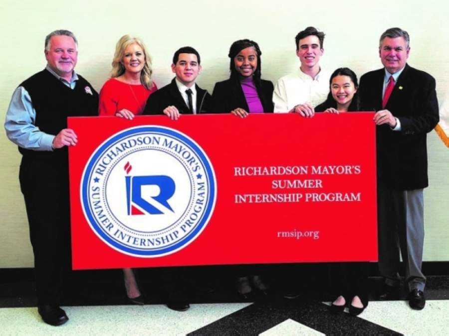 The Richardson Mayor's Internship Program will offer both on-site and remote internship opportunities. (Courtesy city of Richardson)