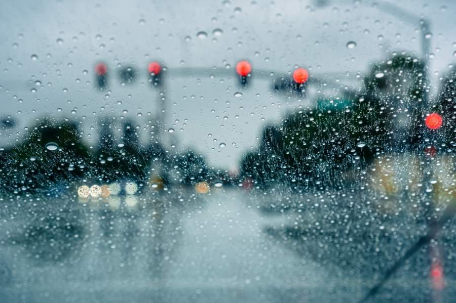Thunderstorms are forecast to reach the I-35 corridor in the evening May 15 and could persist through the early morning May 16. (Courtesy Adobe Stock)