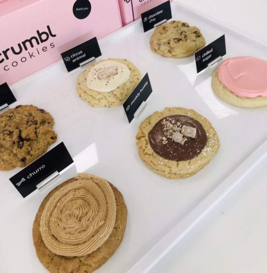 Crumbl Cookies is expected to open May 28 on Old Milton Parkway in Alpharetta. (Courtesy Crumbl Cookies)