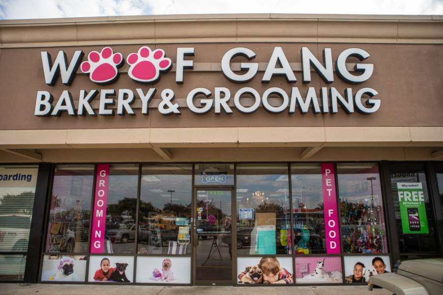 Woof Gang Bakery & Grooming relocated May 14 from 18448 Kuykendahl Road, Spring, to a new location at 6076 FM 2920, Spring. (Courtesy Woof Gang Bakery & Grooming)
