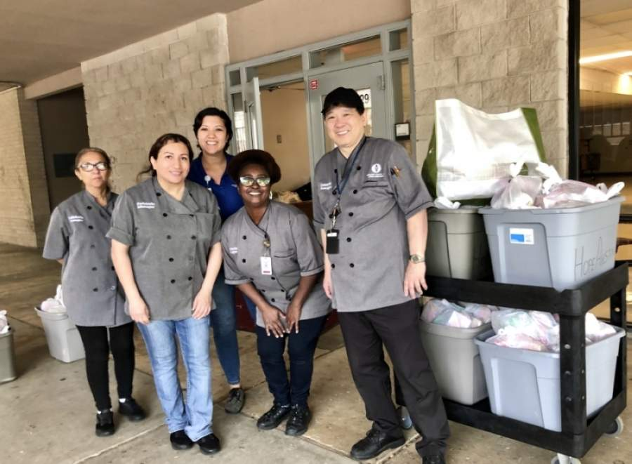 Round Rock ISD's extended curbside meal distributions will run from May 26-June 30. (Courtesy Round Rock ISD)