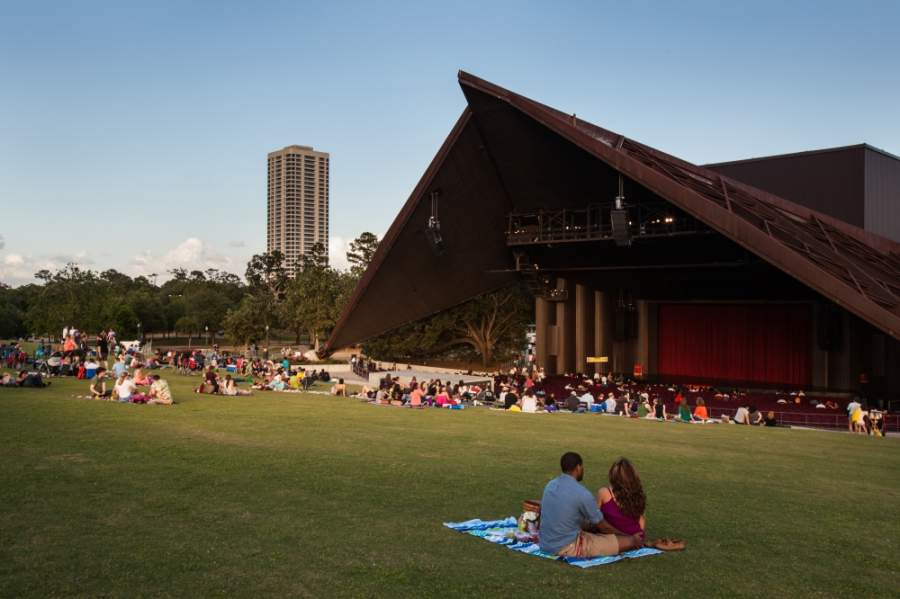 Miller Outdoor Theatre has canceled performances through the end of July. (Courtesy Visit Houston Texas)